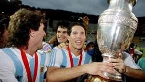 Especial Copa América 100 años (simeone argentina 1993