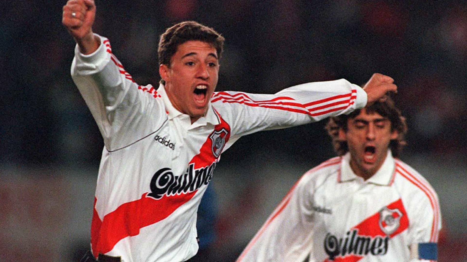 River campeón Copa Libertadores 1996