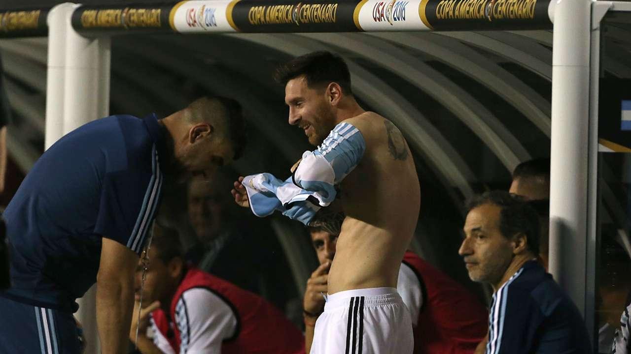 Lionel Messi Argentina Panama Copa America 10062016