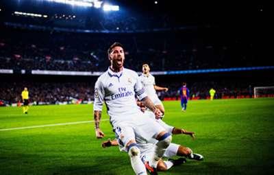 Sergio Ramos Real Madrid Barcelona El Clasico