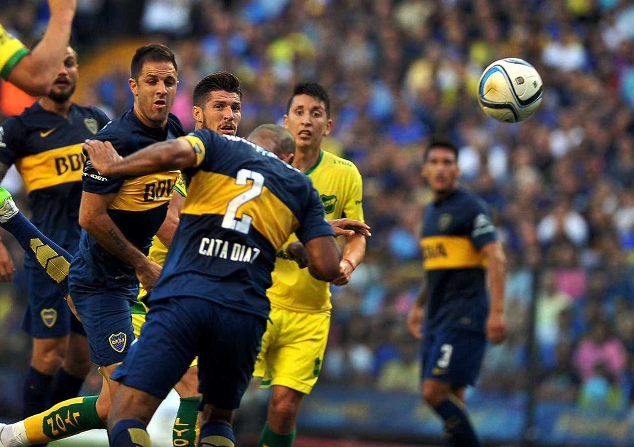 Boca - Defensa y Justicia 14032015