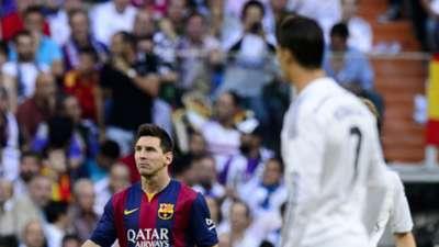 Lionel Messi Real Madrid Barcelona Clasico La Liga 251014