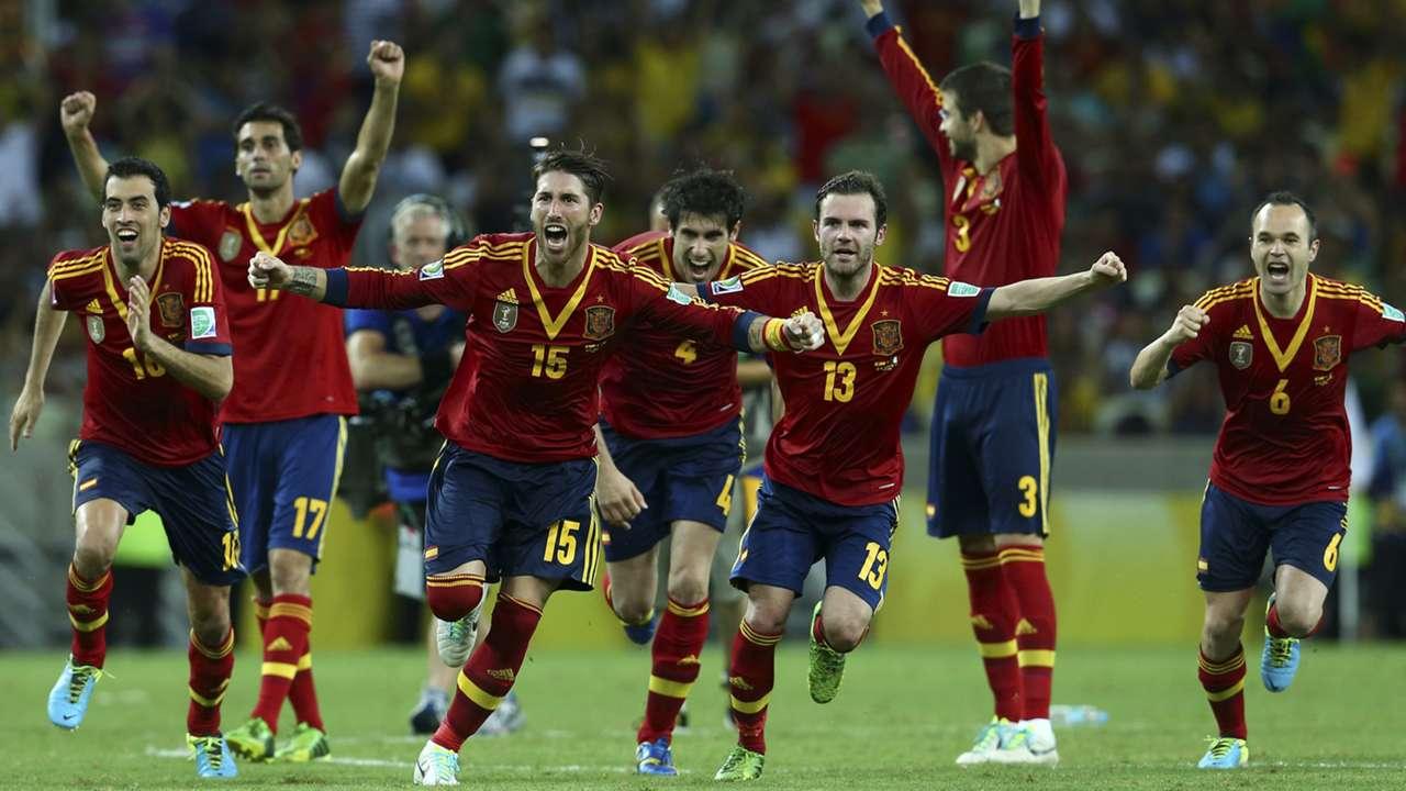 Confederations Cup Spain