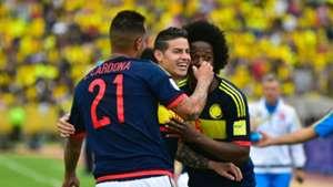 Colombia celebra vs Ecuador Eliminatoria Sudamericana 29032017