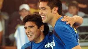 Diego Maradona Juan Roman Riquelme