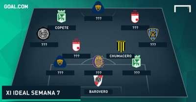 XI ideal semana 7 de la Copa Libertadores