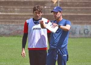 Ronald Raldes con Beñat San José