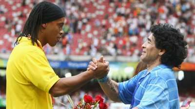 Diego Maradona Ronaldinho
