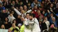 Sergio Ramos y James Rodríguez, Real Madrid