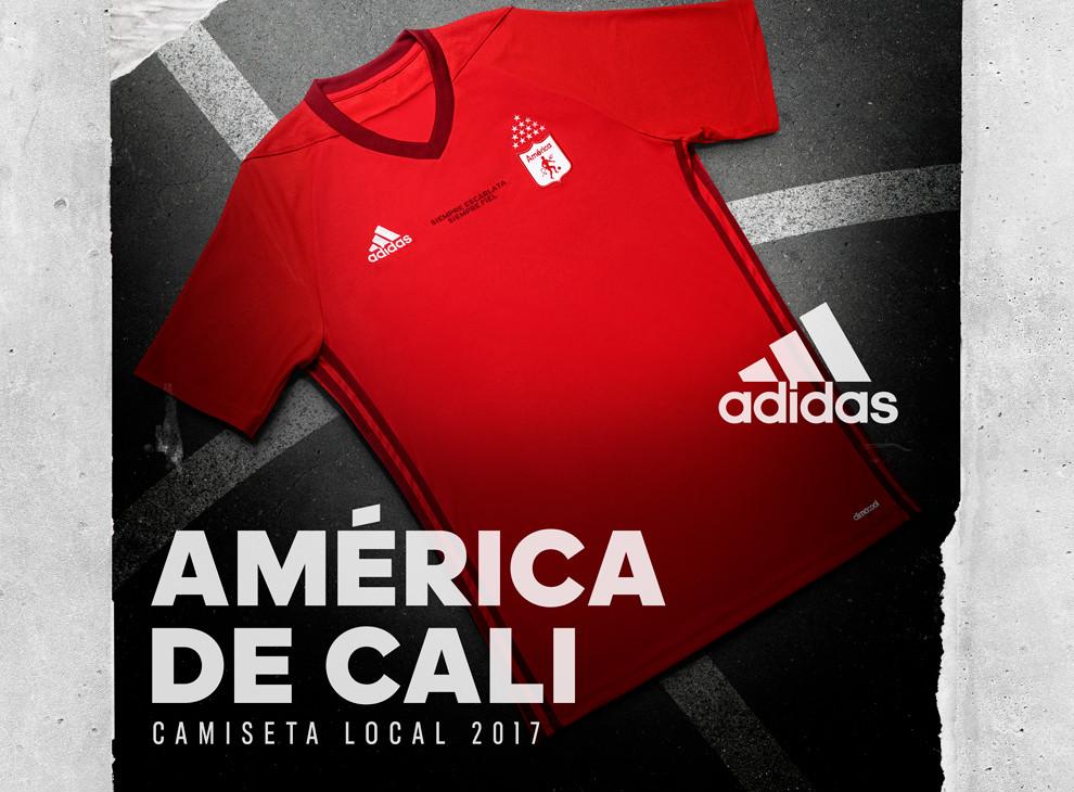 La Nueva Camiseta De América De Cali Para El 2017 Goalcom