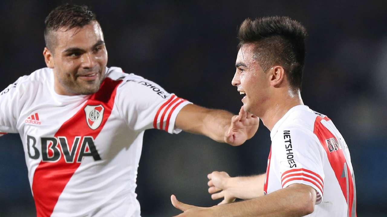 Gabriel Mercado Gonzalo Martinez River Plate Gamba Osaka Suruga Bank 11082015
