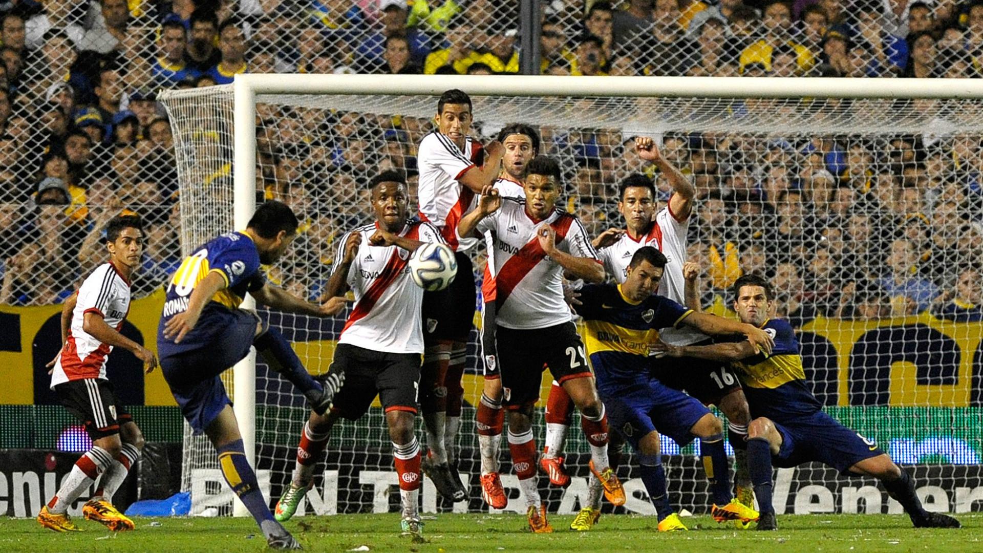Todos los partidos de Riquelme ante River   Goal.com