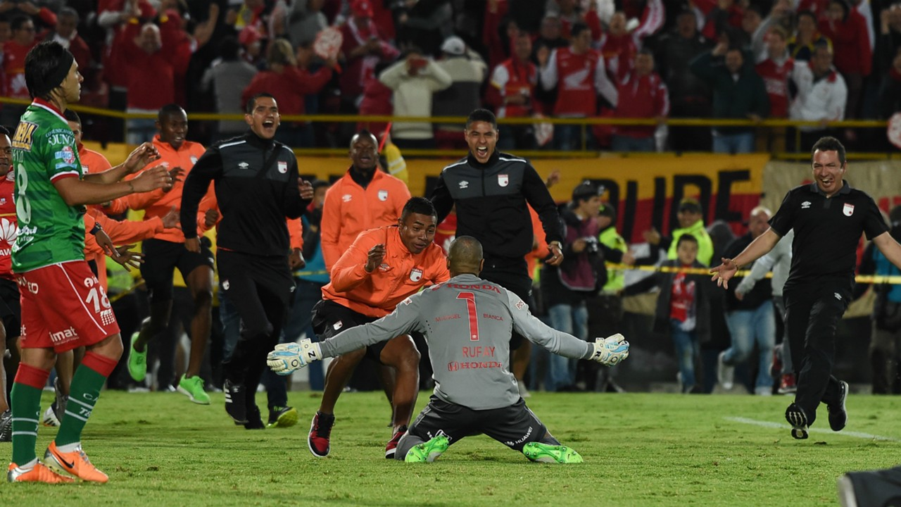 Robinson Zapata Independiente Santa Fe Huracan Final Copa Sudamericana 09122015