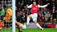 Robin van Persie Arsenal Milan Champions League 06032012