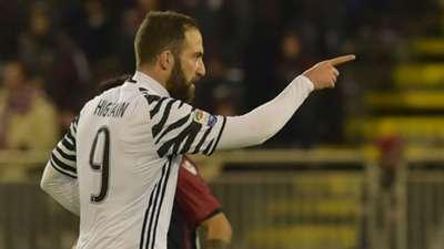 Gonzalo Higuain Cagliari Juventus Serie A 12202017