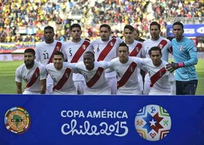formación Perú vs Colombia Copa América