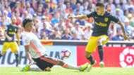 Aderlan Santos Angel Correa Valencia Atletico Madrid La Liga 02102016