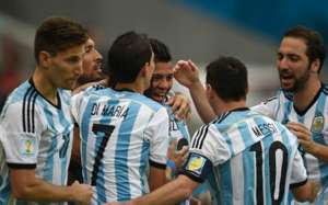 Nigeria Argentina World Cup Group F 06252014