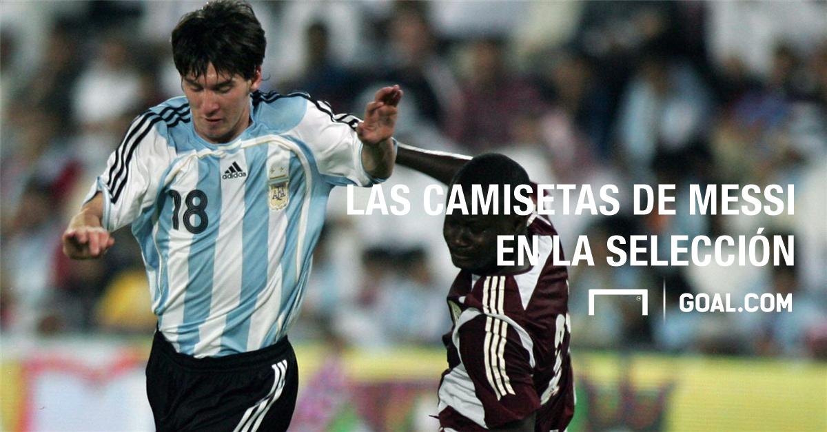 Caratula Messi Argentina