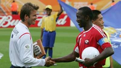 David Beckham Dwight Yorke