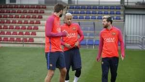 Messi Pique Suarez Neymar Barcelona