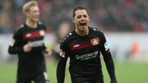 Chicharito Bayer Leverkusen