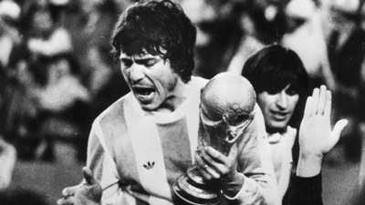 Daniel Passarella Argentina World Champion 1978