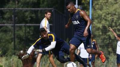 Frank Fabra Entrenamiento Boca Juniors Pretemporada 27012016