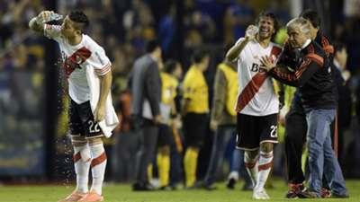 Boca River Copa Libertadores 2015 gas pimienta 07042016