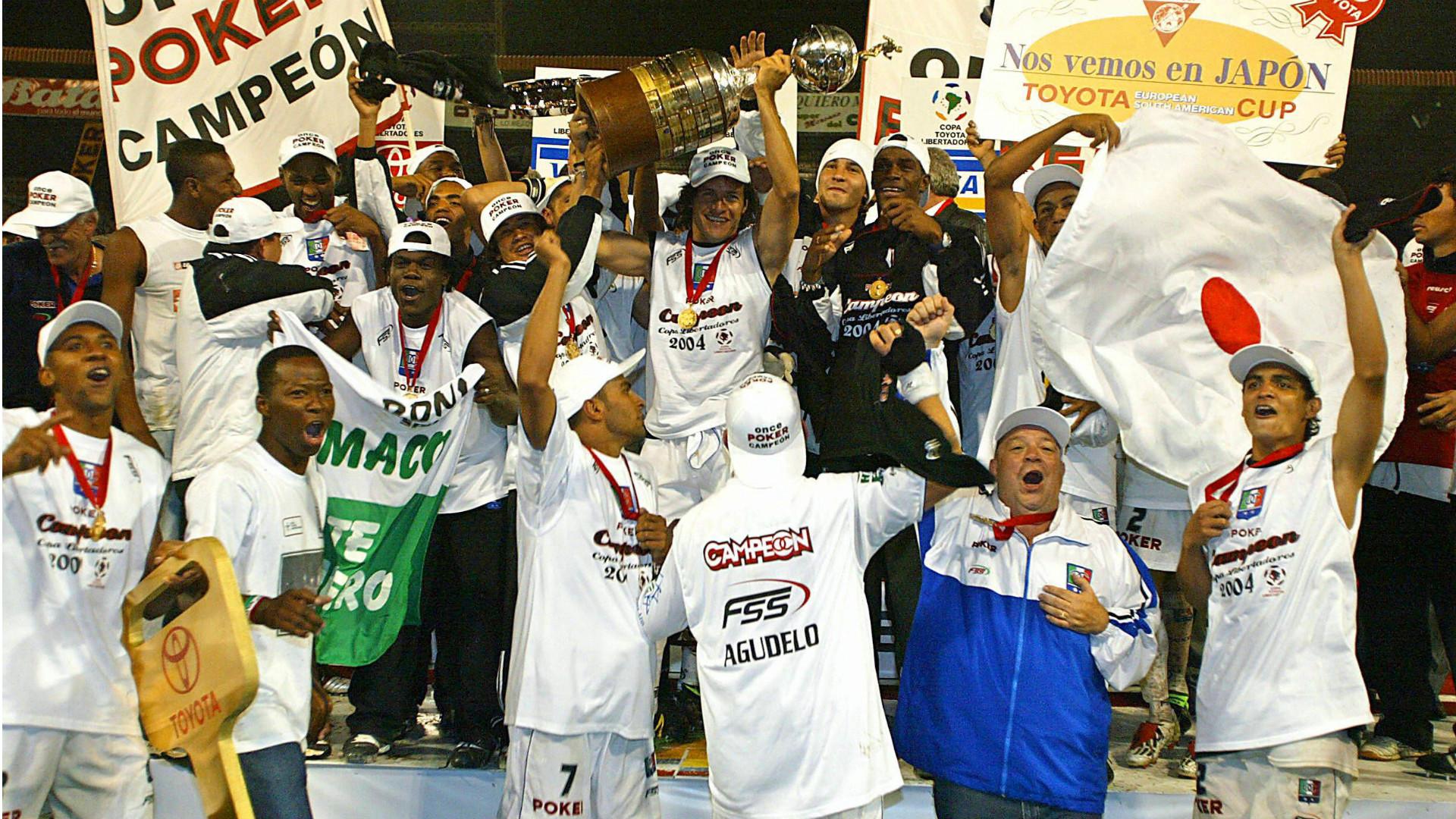 Once Caldas Copa Libertadores 2004 Champions