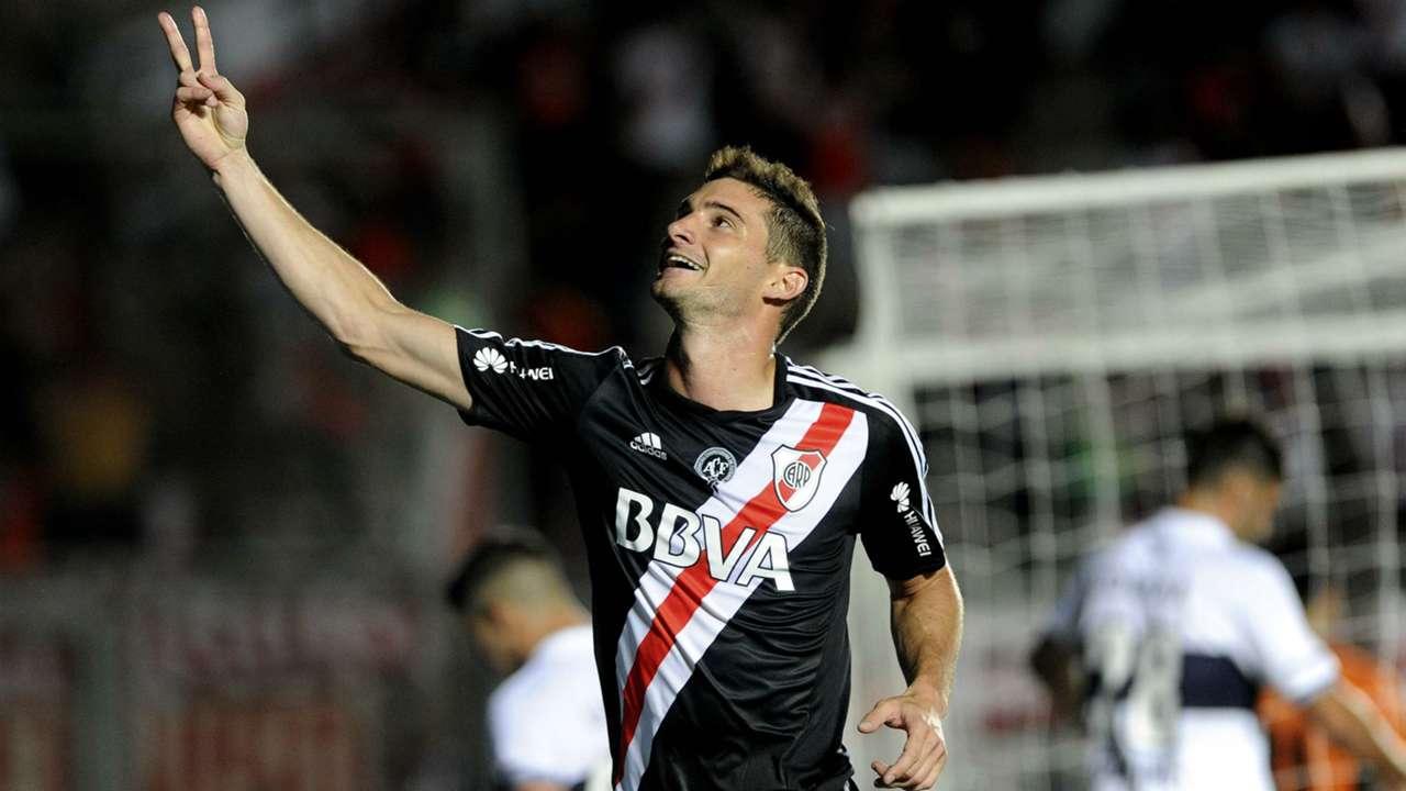 Lucas Alario River Plate Gimnasia Copa Argentina 01122016