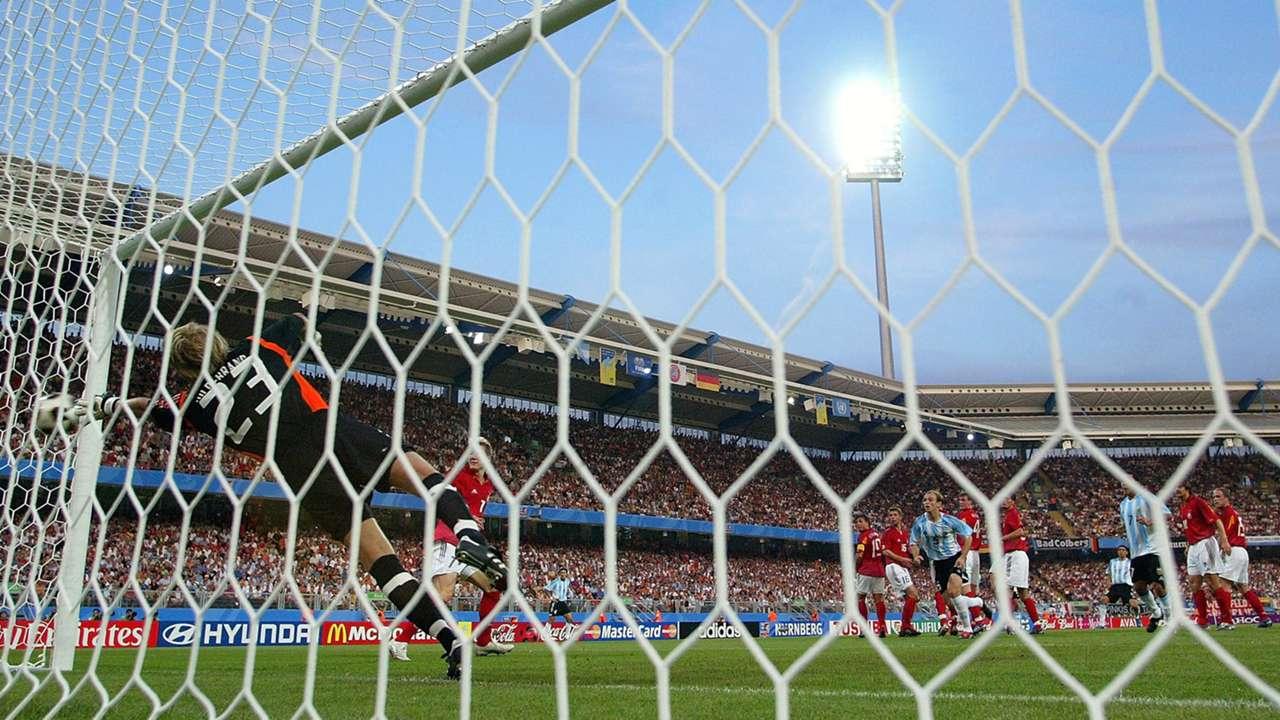 Juan Roman Riquelme Argentina Germany Confederations Cup 2005.