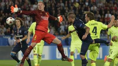 Paris Saint-Germain FC Barcelona UEFA Champions League 30092014
