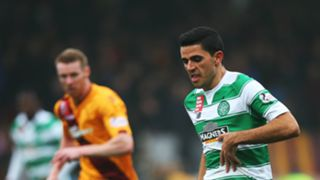 Tom Rogic Motherwell v Celtic Scottish Premiership 17102015