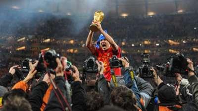 David Villa Spain World Cup