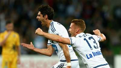 Gui Finkler Melbourne Victory v Central Coast Mariners A-League 19112015