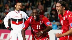 Bruce Djite Adelaide United v Nagoya Grampus AFC Champions League 29052012