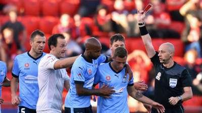 Alex Gersbach Adelaide United v Sydney FC A-League 11122015
