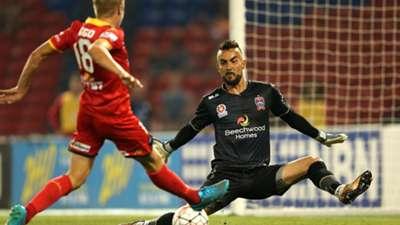 Mark Birighitti Newcastle Jets v Adelaide United A-League 18122015