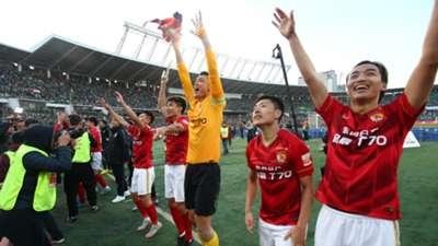 Guangzhou Evergrande v Beijing Guoan Chinese Super League 31102015