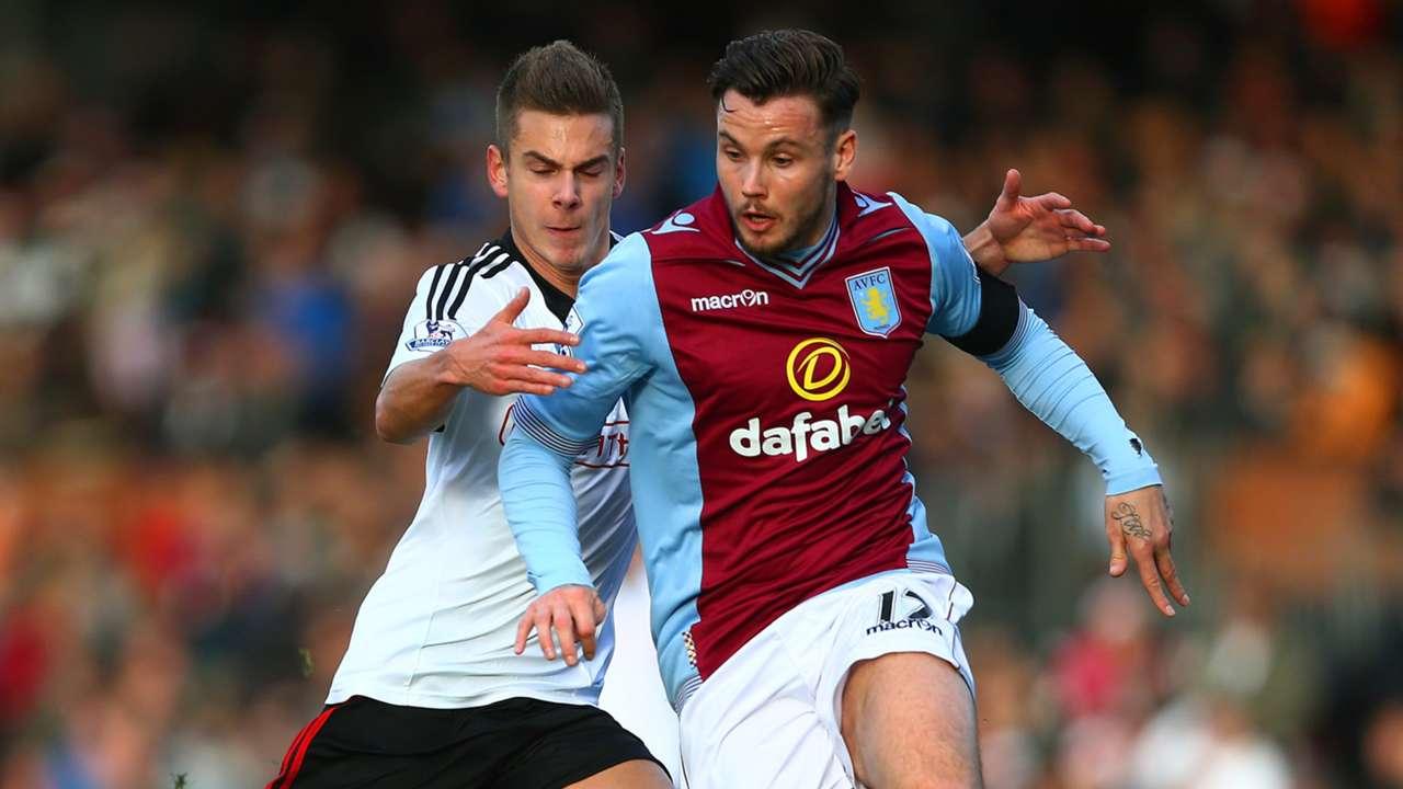 Chris Herd Aston Villa v Fulham Premier League 081213