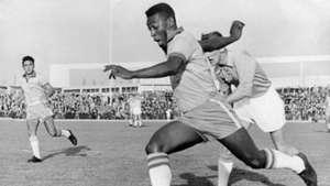Pele Brazil v Malmo 1962