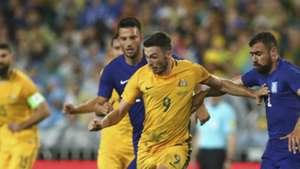Apo Giannou Australia v Greece Friendly 04062016