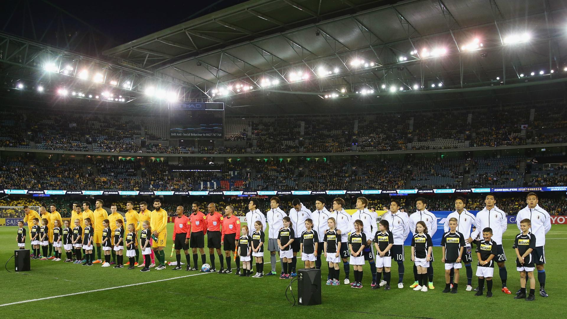 Australia v Japan World Cup qualifying 11102016