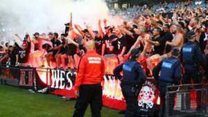 A-League Fans - Western Sydney Wanderers Flare