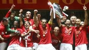 Manchester United UEFA Champions League final 2008