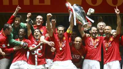 Manchester United UEFA Champions League final 2008