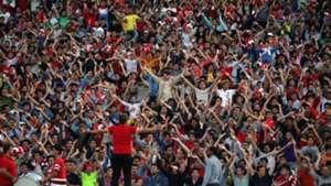 Iran's Persepolis fans - AFC Champions League 2015