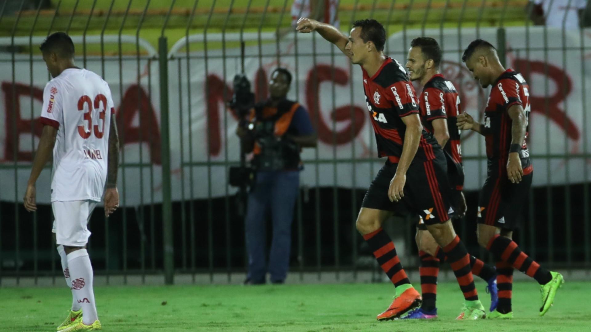 Leandro Damião - Flamengo x Bangu 0 22/03/2017