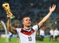 Podolski Alemanha Copa do Mundo 2014 Maracanã